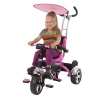 Tricycle Stroller Bike, 3-1 Stroller with Removable Canopy and Stroller Organizer by Lil? Rider, Ride on Toys for Boys and Girls, 1 - 5 Year Old, Pink