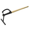 48-Inch TimberJack ? Wood Handled Log Lifter Tool with Hook ? Raises Trees up 14-inches Off the Ground for Chainsaw Cutting by Earth Worth