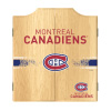 NHL Dart Cabinet Set with Darts and Board - Montreal Canadiens