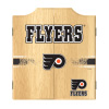 NHL Dart Cabinet Set with Darts and Board - Philadelphia Flyers