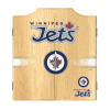 NHL Dart Cabinet Set with Darts and Board - Winnipeg Jets™