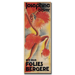 'Josephine Baker' Canvas Art