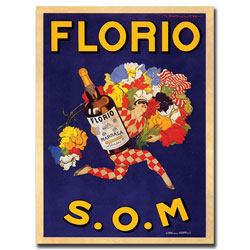 'Florio S.O.M' Canvas Art