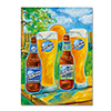 Blue Moon 'Spring' Canvas Art