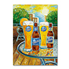 Blue Moon 'Summer' Canvas Art