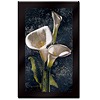 Laminated Wall Art  Callas by John Seba Mounted  22 x 34