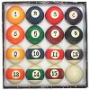 Billiard Pool Ball Set - BIG NUMBER Display