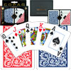 Copag Poker Size Jumbo Index - Blue/Red Setup
