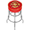 Fire Fighter Logo Padded Bar Stool - Made In USA