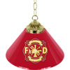 Fire Fighter 14 Inch Single Shade Bar Lamp