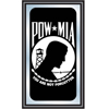 POW Wood Framed Mirror BIG 15 x 26 inches