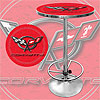 Corvette C5 Pub Table - Red