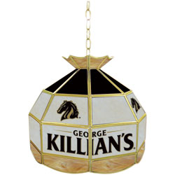 George Killians Stained Glass Billiard Lamp - 16 Inch