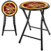 Anheuser Busch A & Eagle 18 Inch Folding Stool - Black