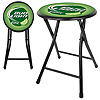 Bud Light Lime 18 Inch Cushioned Folding Stool - Black