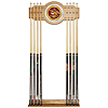 Anheuser Busch A & Eagle Billiard Cue Rack