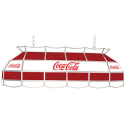 Coca Cola Red & White Vintage 40 Inch Billiard Lamp