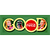 Good Coke Stretched Canvas Print  - 12x36 Inch