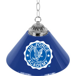 Air Force Falcons 14 Inch Single Shade Bar Lamp