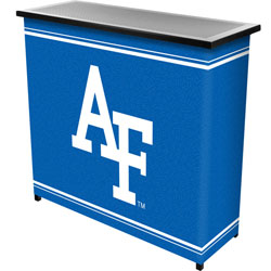 Air Force Falcons Portable Bar with Case