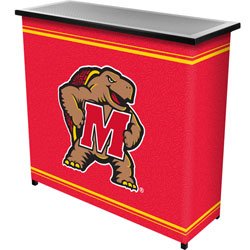 Maryland University Portable Bar with Case