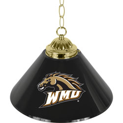 Western Michigan University? Single Shade Bar Lamp - 14 inch