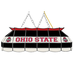 The Ohio State Stained Glass 40 Inch Lighting Fixture - Black