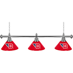 University of Dayton? 3 Shade Billiard Lamp