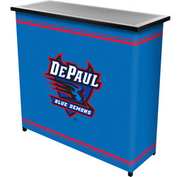 DePaul University™ 2 Shelf Portable Bar w/ Case