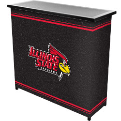 Illinois State University™ 2 Shelf Portable Bar w/ Case