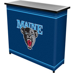 University of Maine™ 2 Shelf Portable Bar w/ Case