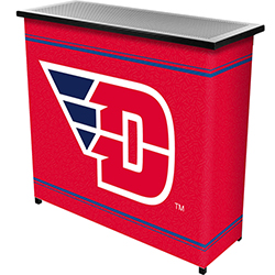 University of Dayton? 2 Shelf Portable Bar w/ Case