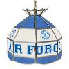 Air Force Falcons 16 Inch Handmade Stained Glass Lamp