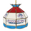 Gonzaga University 16 Inch Handmade Stained Glass Lamp