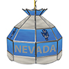 University of Nevada 16 Inch Stained Glass Lamp