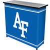 Air Force Falcons? 2 Shelf Portable Bar w/ Case