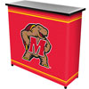 Maryland University� 2 Shelf Portable Bar w/ Case