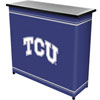 Texas Christian University� 2 Shelf Portable Bar w/ Case