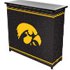 University of Iowa? 2 Shelf Portable Bar w/ Case