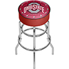 Ohio State University Logo Padded Bar Stool