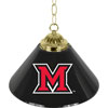 Miami University Ohio? Single Shade Bar Lamp - 14 inch