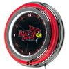 Illinois State University Neon Clock - 14 Inch Diameter