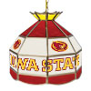 Iowa State University Stained Glass Billiard Lamp - 16 Inch