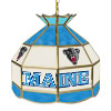 University of Maine Stained Glass Billiard Lamp - 16 Inch