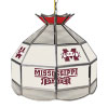 Mississippi State U Stained Glass Billiard Lamp - 16 Inch
