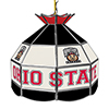 The Ohio State Glass Billiard Lamp - 16 Inch Diameter - Brutus