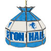 Seton Hall University Stained Glass Billiard Lamp - 16 Inch