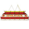 Iowa State University Stained Glass 40 Inch Billiard Lamp