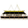 Wake Forest University 40 Inch Handmade Stained Glass Lamp