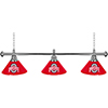 The Ohio State University 3 Shade Billiard Lamp